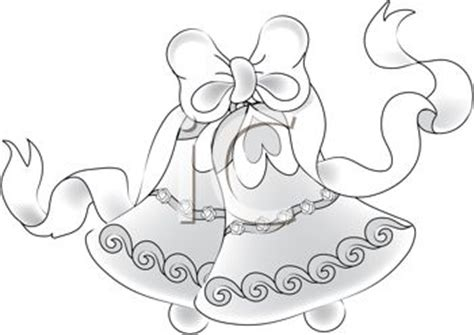 wedding bells clipart black and white wedding ribbon clipart 70