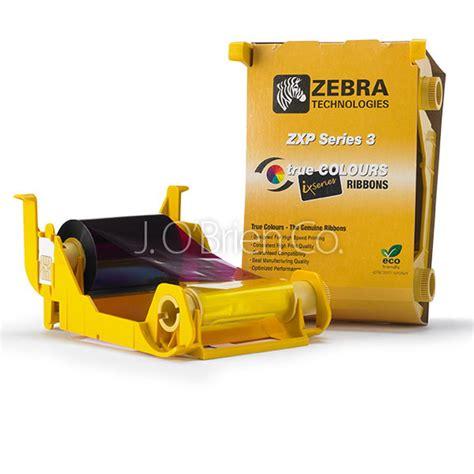 Ribbon Black Printer Zebra Zxp3 Ribbon Zxp3 Part Number 800033 801 zebra 800033 350 ribbon 700 images std black j o brien