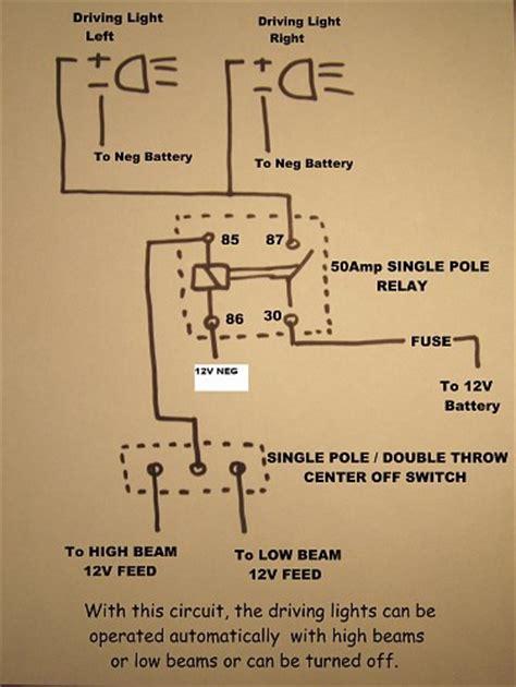 hella driving light relay wiring diagram get free image