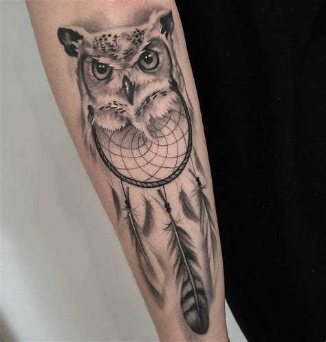 owl feather tattoo feather meaning ink vivo