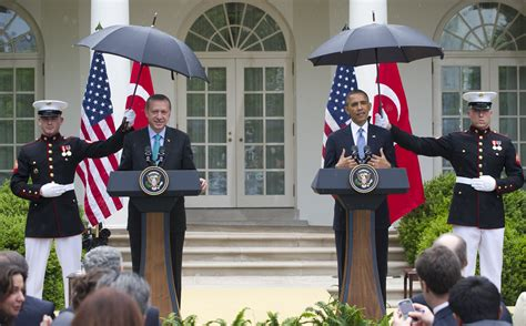white house marines obama summons marines for umbrellas during press