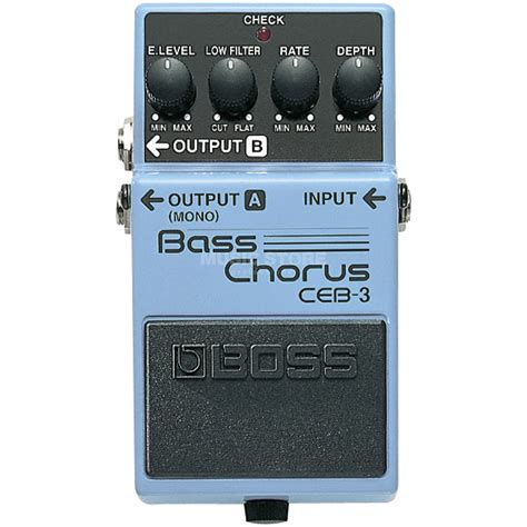 Efek Bass Chorus Ceb 3 Ceb 3 Bass Chorus Pedal
