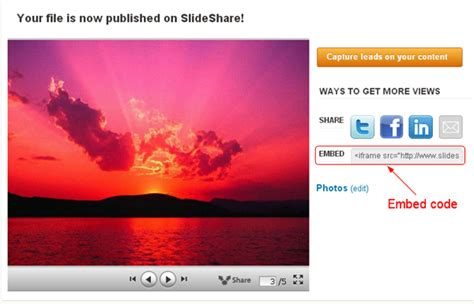 blogger embed code 3 methods to add powerpoint to google blogger powerpoint