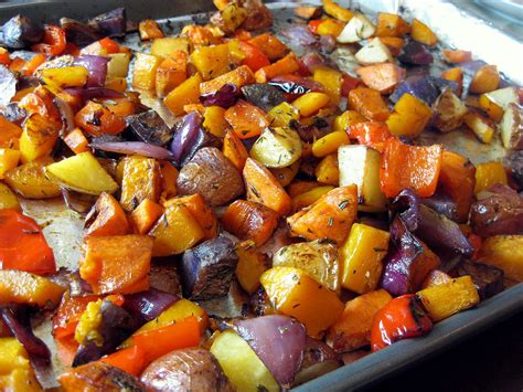 vegetables roasted herb roasted vegetables a hint of honey