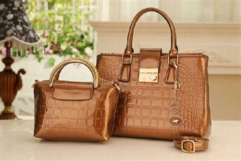 Fashion 9921 Semprem Set Dompet tas branded import murah ready stock tas branded import
