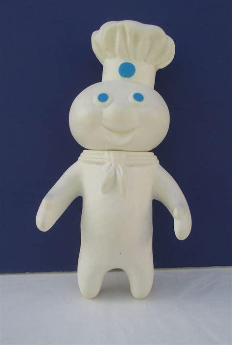 pillsbury doughboy rubber doll   dated