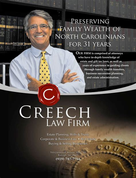 Home Design Firms by Creech Law Raleigh Nc Gt Our State Ad