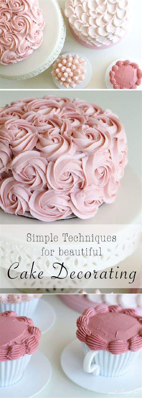 links to love cake decorating tips and tricks momof6 4 simple and stunning cake decorating techniques 17