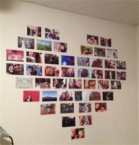 wall picture collage ideen 13 creative diy photo collages for your home d 233 cor