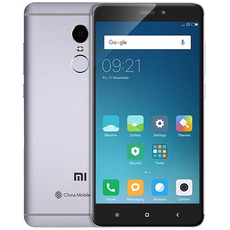mobile phone international international version xiaomi redmi note 4 64gb rom 4g