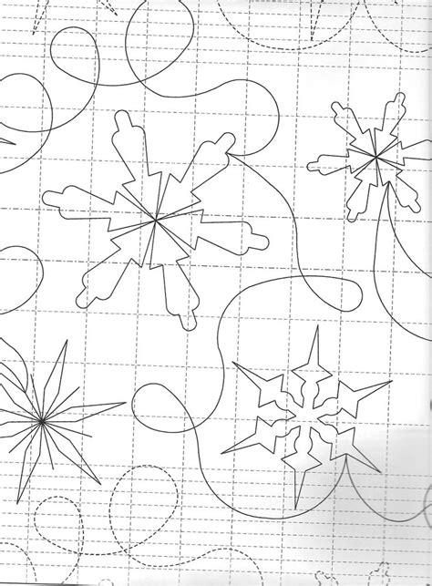 Snowflake Quilting Design snowflake quilt design free motion quilting