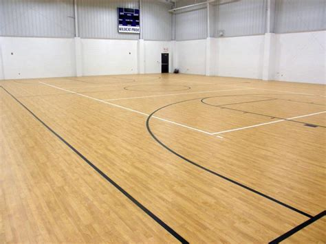 Vinyl Sports Flooring ? Northern Hardwood Company