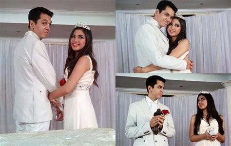 film ggs tristan dan nayla menikah mesranya adegan pernikahan kevin julio dan jessica mila di