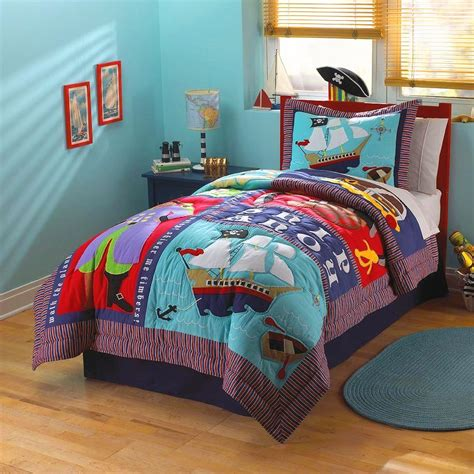 boys bedding twin twin bedding for boys kids pirate ship bedding for little boys twin size pc quilt set