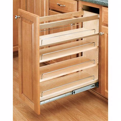 Cabinet Shelf Hardware by Base Cabinet Pullout Organizers Rev A Shelf 448 Series