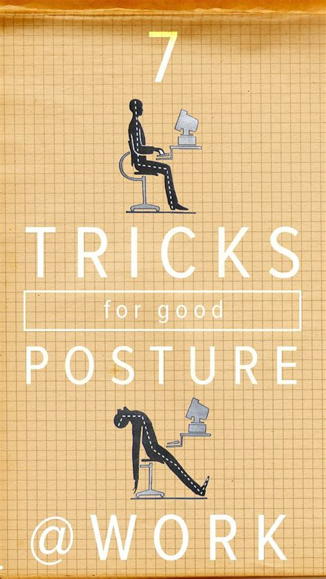 7 Tips For Improving Your Posture by 7 Simple Ways To Improve Your Posture At Work