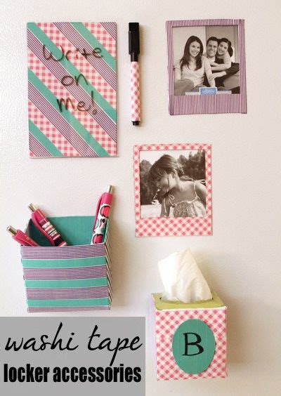 16 diy locker decoration and organization tips tricks