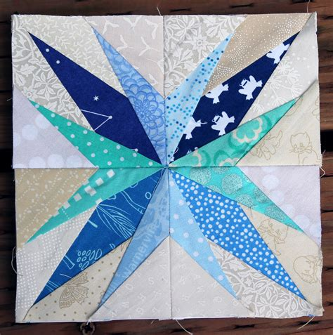 How To Make Paper Piecing Patterns - paper pieced block wombat quilts
