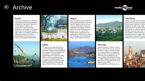 make my trip calendar makemytrip explore app for windows in the windows store