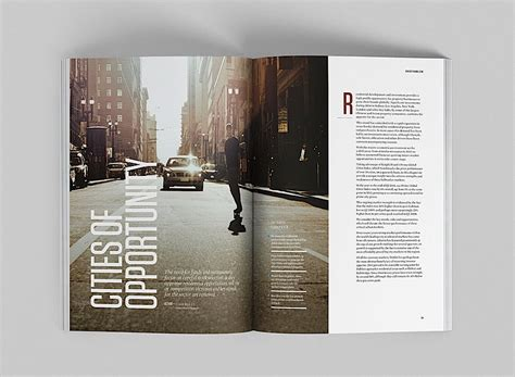 print page layout design inspiration editorial design inspiration global cities report