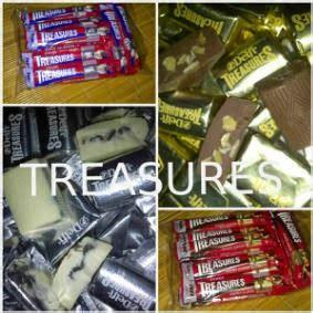 Coklat Delfi Treasure 36gr Isi 4pcs kedai coklat