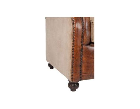 canap 233 cuir forme chesterfield