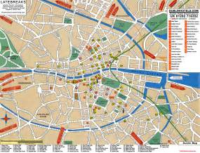 dublin map dublin tourist map dublin ireland mappery