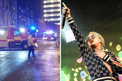lil pump nottingham lil pump gig in nottingham evacuated after smoke bombs