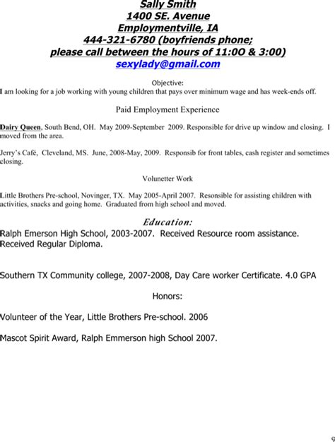 Alterations Seamstress Resume by Alterations Seamstress Resume For Free Page 9