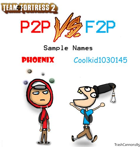 doodle f2p tf2 p2p vs f2p by trashcannon185 on deviantart