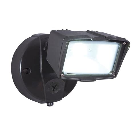 small led flood lights all pro bronze outdoor integrated led small single head