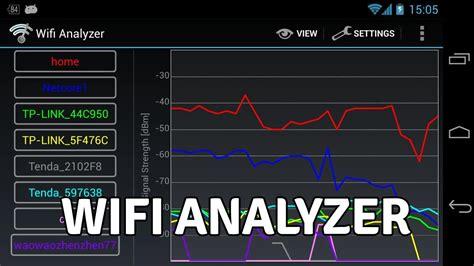 wifi analyzer android wifi analyzer a great android app that analyzes wifi signals