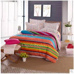 colorful comforter sets cool awesome colorful striped king bedding sets