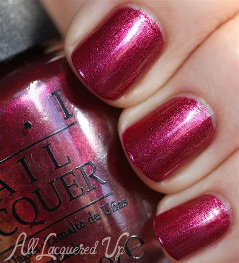 opi nail polish swatches opi san francisco fall 2013 silver red nail polish
