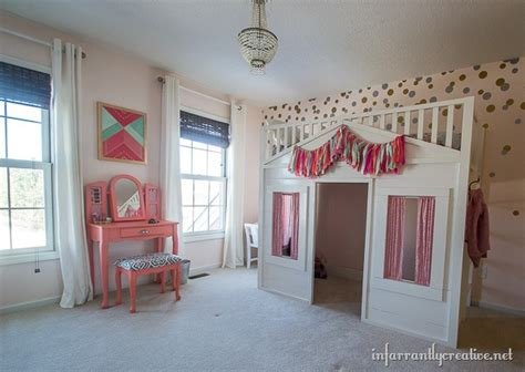 Paris Bedroom Decorating Ideas Coral Mint And Pink Little Girls Room Reveal