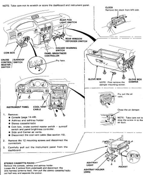 motor auto repair manual 1995 honda accord head up display manual de reparacion honda accord 93 94 95 96 97 98
