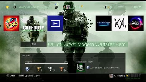 ps4 themes youtube modern warfare remastered variety map pack ps4 theme
