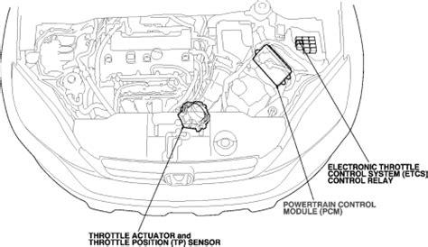 repair guides component locations throttle position sensor autozonecom