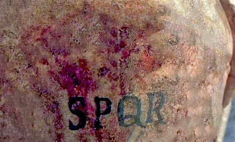 i tatuaggi nell antica roma romanoimpero com
