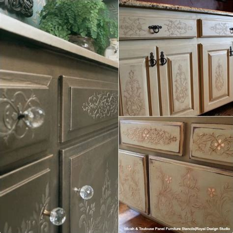 kitchen cabinet door makeover 465 best images about stenciled and painted furniture on
