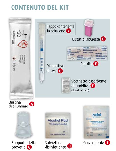 test per l hiv l auto test o self test hiv