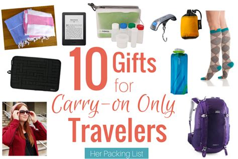 Gifts For A Traveler - 10 gift ideas for the carry on traveler packing list