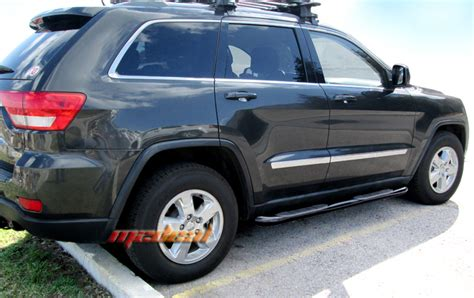 jeep grand step bars new 3 quot side step nerf bars for 11 15 jeep grand