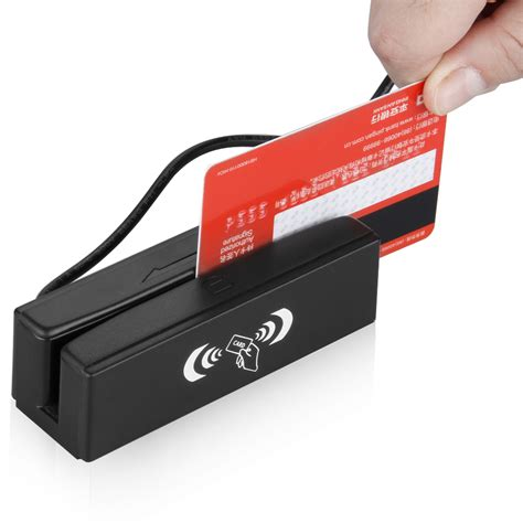how to make a magnetic card 2in1 usb magnetic credit card stripe swipe reader rfid
