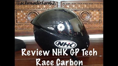 Helm Nhk Gp Tech Carbon review nhk gp tech carbon race doovi