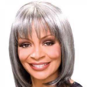 gray hair pieces for american brazil short straight gray african american wigs for women