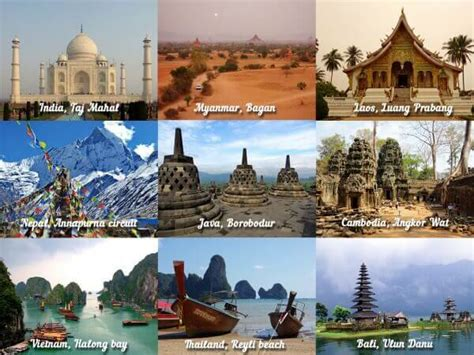 7 Cool Countries To Visit by Best Countries To Travel In Asia My Travel Experience