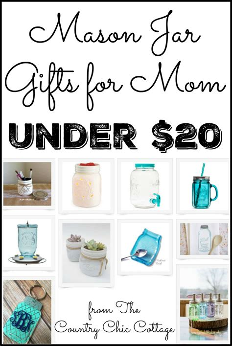 gifts for mom gifts for mom under 20 mason jar themed the country