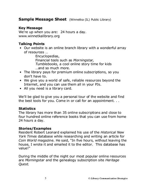 talking points template barber word of marketing workshop webinar handout
