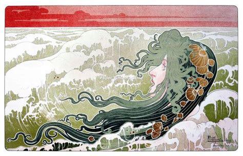 wave nouveau give you length 111 best henri privat livemont images on pinterest art